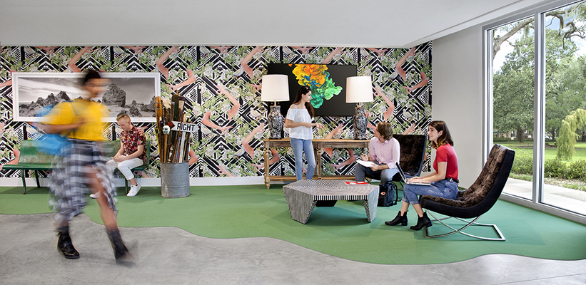 SCAD Wallpaper Installation