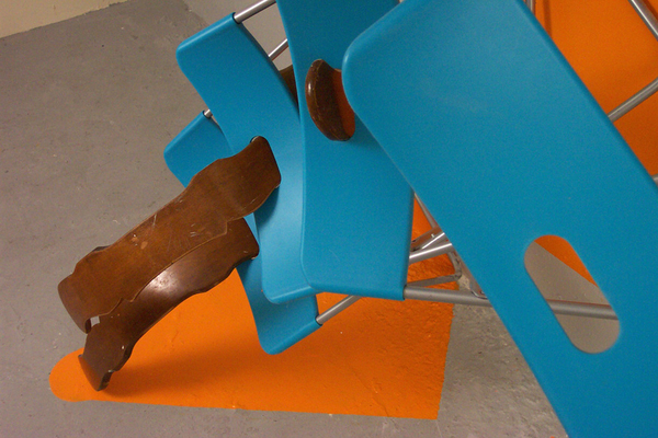 orange piece detail
